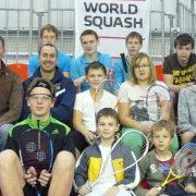 "WSF Ambassadors ""An Inspiration"" To Latvian Squash"