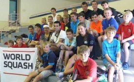 WSF Ambassadors Empower Namibian Squash