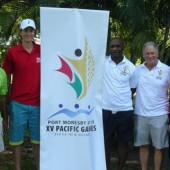 WSF Ambassadors Help Papua New Guinea Gear Up For The Games
