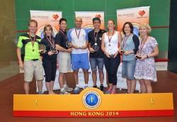 Record High Fives For World Masters Davenport, Murphy & Van Der Wath