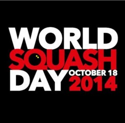 WORLD SQUASH DAY 2014: GO FOR IT!