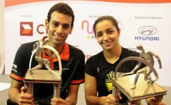 Egyptian double in Malaysian Open
