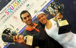 Shorbagy and David claim Hong Kong titles