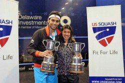 David and Elshorbagy claim U.S. Open titles