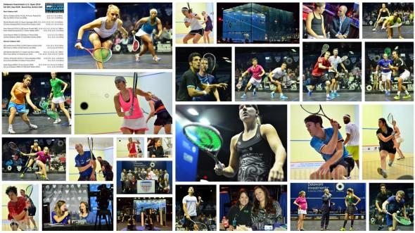 Round One Photo Collage