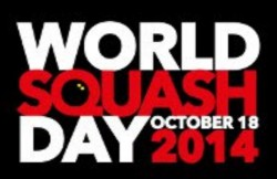 Stars Take Speed Test To Highlight World Squash Day 2014