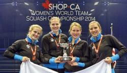 England Reclaim Women's World Team Title