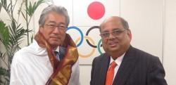 WSF President Meets Tokyo 2020 Games Organising Committee