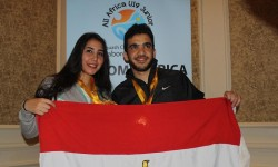 Egypt Celebrate All Africa Hat-Trick