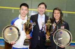David Denies Au Asian Double