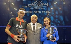 Shorbagy and Serme win British Open titles