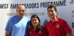 WSF Ambassador Visit Heralds 'Massive Boost' For Squash In Romania