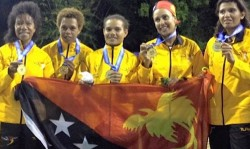 Papua New Guinea Teenager Vai Clinches Triple Gold For Pacific Games Hosts