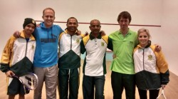 South Africa & Ireland Take Top Squash Honours In World Transplant Games