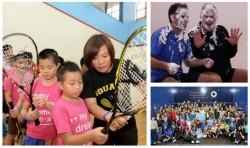 Stars Ride & Shine For World Squash Day