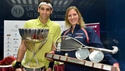 Elshorbagy and Massaro are 2015 Qatar Classic Champions