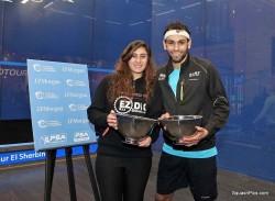 Elshorbagy and El Sherbini Take Tournament of Champions Spoils