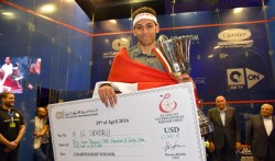 Elshorbagy Is 2016 El Gouna International Champion