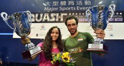 Egyptian pair Gohar and Ashour claim Hong Kong Open crowns