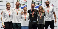England & South Africa share World Masters honours