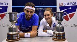 Serme and Elshorbagy claim U.S. Open titles