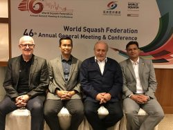 Jacques Fontaine Elected World Squash Federation President