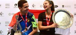 Egyptians Tarek & Araby score World Junior double in New Zealand