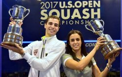 U.S. Open Finals – Tayeb and Farag Family Double