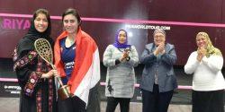 El Sherbini claims historic inaugural Saudi Women's Masters crown
