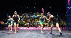 Intense Day Two action sets up Commonwealth Games Doubles Knockout Stages