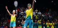 Urquhart & Pilley extend Aussie ownership of Mixed Doubles Gold