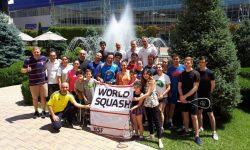 WSF Ambassadors Inspire Armenian Squash