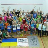 WSF Ambassador visit a 'Dream Come True' for Ukraine Squash