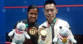 It's Asian Games Gold for David and Au