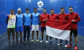 Title-Holders make winning starts in Asian Games Teams