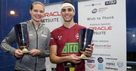 Farag dethrones ElShorbagy as England's Perry retains title