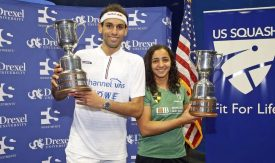 World Champions ElShorbagy and El Welily lift U.S. Open titles