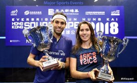 King and ElShorbagy claim Hong Kong Open titles