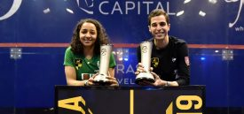 Welily and Farag claim El Gouna titles