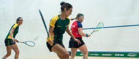 WSF World Doubles : Great start for Aussies