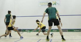 WSF World Doubles : Semi-Finalists decided on Day Three