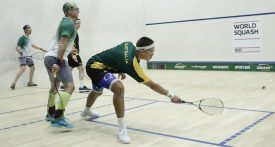 WSF World Doubles : Semi-Finals