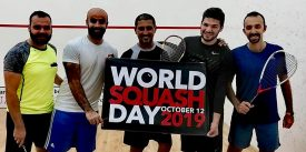 Black Ball Club shows off Egyptian prowess on World Squash Day