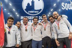 Egypt seeded to retain WSF Men's World Teams Crown in Washington