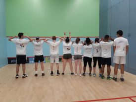 The Israel Connect Programme - a group of 12 young people from New York, Miami, Pittsburgh, Cleveland, Greenwich, Allentown, Raanana, Tel Aviv and Tira joined together for a summer of squash.