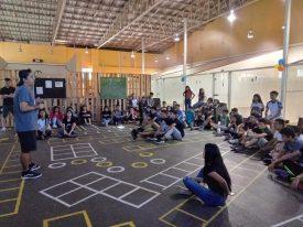 The purpose built Squash Para Todos facility
