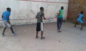 Egoli Squash working with local schools