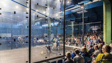 The 2017 European Masters Squash Championships taking place at the Hasta la Vista club