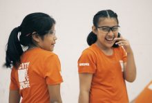 CitySquash Children Laughing