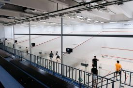 Moscow's National Squash Centre